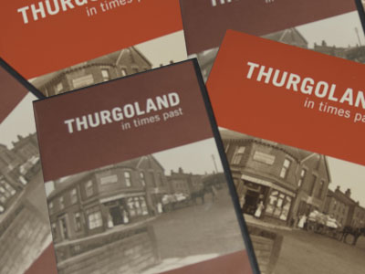 Covers of Thurgoland History Group DVD and Books